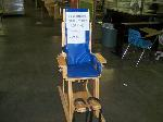 Lot: 400 - Rifton Lift Base Chair