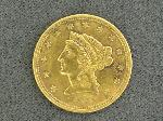 Lot: 972 - 1905 $2 1/2 GOLD COIN - VERY FINE