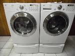 Lot: A4903 - Working LG Tromm Washer Dryer Set