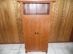 Lot: A4954 - Light Cherry Computer Armoire Cabinet