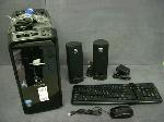 Lot: 3343 - GATEWAY PC, SPEAKERS, KEYBOARD & MOUSE