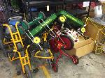Lot: 11 - Swing / PVC Play Equipment, Tricycles