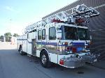Lot: 16110 - 1991 SPARTAN QUINT FIRE TRUCK