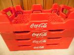 Lot: A5068 - Coca-Cola Commercial Stackable Crate Carrier