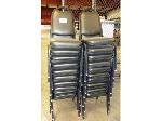 Lot: 02-17631 - (20) Stacking Chairs