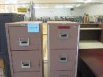 Lot: 34 & 35.PASADENA - (2) File Cabinets & (2) Bookcases