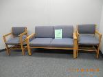 Lot: 85.HOUSTON2 - LOVE SEAT & (2) CHAIRS
