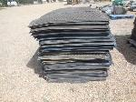 Lot: 01.SEALY - (100) Rubber-Backed Mats