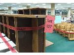 Lot: 107, 108 & 109 - (8) Tables, (7) Dismantled Desks, Hutches, File Cabinets, Magazine Covers & Media Cases