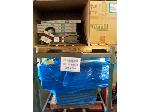 Lot: 219 - (2 PALLETS) LIGHT FIXTURES, FILTERS & FAN BELTS