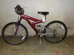 Lot: 02-17843 - Maroon  Bicycle