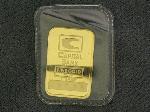 Lot: 1505 - 1 GRAM FINE GOLD CAPITAL BANK