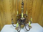 Lot: A5272 - Hampton Bay Bronze Chandelier