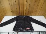 Lot: A5291 - Factory Sealed Black Leather Jacket Adult