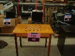 Lot: 40 - CHECKER TABLE