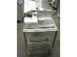 Lot: 4984 - HOBART SLICER w/ CART