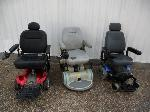 Lot: D951 - (3) POWERED WHEEL CHAIRS
