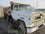 Lot: 07 - 1986 CHEVY DUMP TRUCK W/AIR BRAKES (PARTS ONLY)