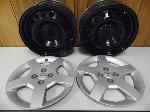 Lot: A5313 - Pair of Chevrolet OEM 15x6J Wheels & Covers