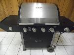 Lot: A5316 - Brinkmann Stainless Steel Propane Grill