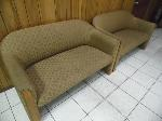 Lot: A5324 - Pair of Matching Love Seats