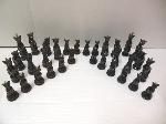 Lot: A5329 - Factory Sealed Marble Chess Set