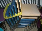 Lot: H05.LAFERIA - (APPROX 10) CHAIRS W/STOOLS