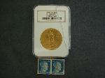 Lot: 1816 - 1914 $20 GOLD COIN