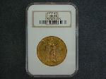 Lot: 1819 - 1927 $20 GOLD COIN