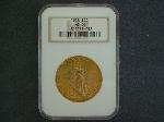 Lot: 1820 - 1928 $20 GOLD COIN