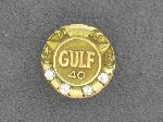 Lot: 1830 - 10K GULF 40 YR SERVICE PIN
