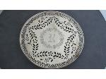 Lot: 1840 - STERLING ROUND SERVING TRAY
