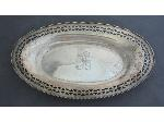 Lot: 1841 - STERLING OBLONG TRAY/BOWL