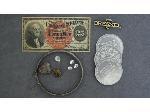 Lot: 1856 - SILVER BANGLE BRACELET