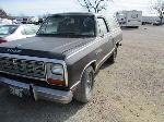 Lot: 226 - 1985 DODGE RAM CHARGER SUV