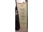 Lot: 24  & 25 - (2) File Cabinets