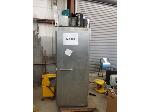 Lot: MB 100  & 101 - Stainless Steal Up Right Freezer & GE Refrigerator