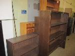 Lot: 34.PASADENA - (6) WOODEN BOOKSHELVES