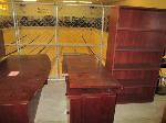 Lot: 41.PASADENA - (5) PIECE OFFICE DESK SET