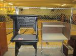 Lot: 42.PASADENA - (2) PLASTIC DESKS & TEST DESK