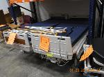 Lot: 68.HOUSTON - (3) HOSPITAL BEDS W/ ATTACHMENTS & DESK