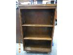 Lot: 75.HOUSTON - MAP STAND, DESK & BOOKSHELF