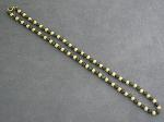 Lot: 1860 - NECKLACE WITH 14K BEADS
