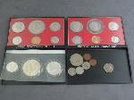 Lot: 1863 - 1976 BICENTENNIAL MINT SET & FOREIGN COINS