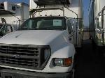 Lot: FM019 - 2003 FORD F-750 REFRIG. TRUCK