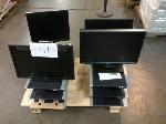 Lot: 411.AUSTIN - (8) Dell Docking Stations, (4) Computer Monitors