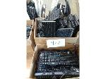 Lot: 422.AUSTIN - (Approx 45) Keyboards & Cables