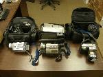 Lot: 05 - (2) Sony Camcorders & Digital Camera