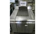 Lot: 5003 - VULCAN GRIDDLE WITH TRAY RACK