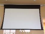 Lot: 04.CONROE - (2) Vutec 92-inch Motorized Screens